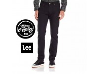 ORIGINAL LEE JEANS 200-16937 REGULAR FIT (SUPER BLACK)