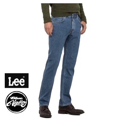 ORIGINAL LEE JEANS 201-20042 SLIM FIT (BLUE)