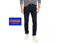 ORIGINAL PIPERS JEANS P910-43362 TRIM FIT (DARK BLUE)