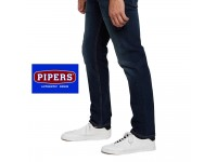 ORIGINAL PIPERS JEANS P910-43678 TRIM FIT (DK BLUE WASH)