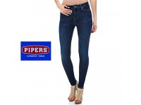 ORIGINAL PIPERS JEANS WOMEN SLIM FIT P952 - 49921 (BLUE WASH )