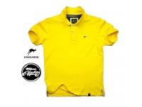 ORIGINAL KANGAROO POLO T-SHIRT PLAIN CASUAL STYLE KCT-1021-YL