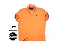 ORIGINAL KANGAROO PLAIN POLO SHIRT KCT-1021-LT (ORANGE)