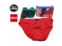 Original 3Pcs Edwin Men'S Brieft Cotton Underwear EV 1443 - 3