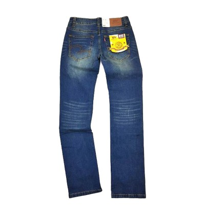 Original BV Travellers Jeans Stretchable Skinny Cut B12-2003SD ( Blue Wash)