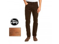 Original BV Travellers Jeans Corduroy Straight Cut B11-107 (Brown)