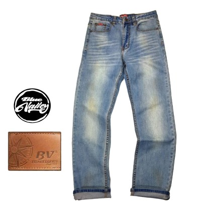 Original BV Travellers Jeans Straight Cut B11-2002SD (Blue Wash)