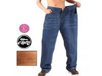 Original BV Travellers Big Size Stretchable Jeans Regular Fit B15-30011 (Blue)