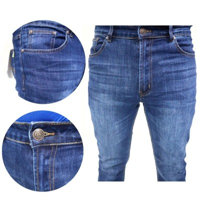 Original BV Travellers Straight Cut Jeans B11-WL8866-2 (Blue)