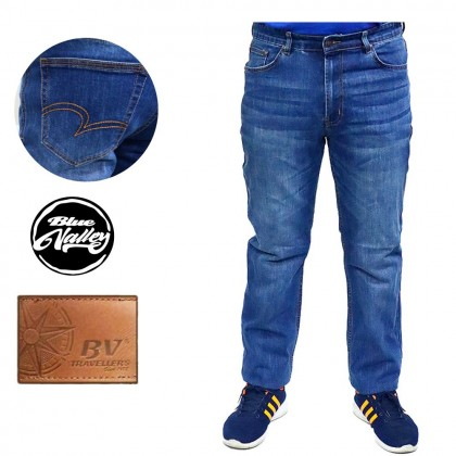 Original BV Travellers Straight Cut Jeans B11-WL8866-3 (Blue)