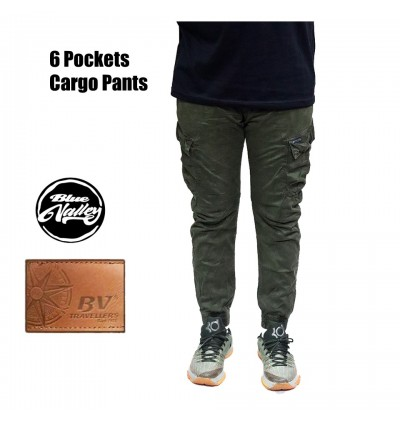 Original BV Travellers 6 Pockets Cargo Pants 8786-6 (Army Green)