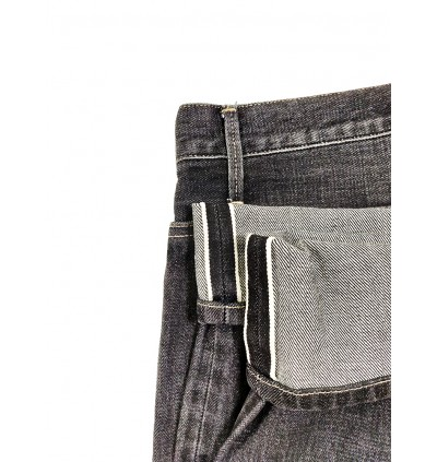 Limited Edition Pipers Legend Vintage Selvage Regular Fit Jeans P909-20337 (Black)