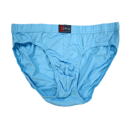 Big Size Edwin Underwear 100% Cotton 3pcs EV1280-3U5H00 (Random Colour)