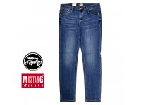 [Original] Mustang Jeans For Men Straight Slim Cutting M689-08928 (Blue)