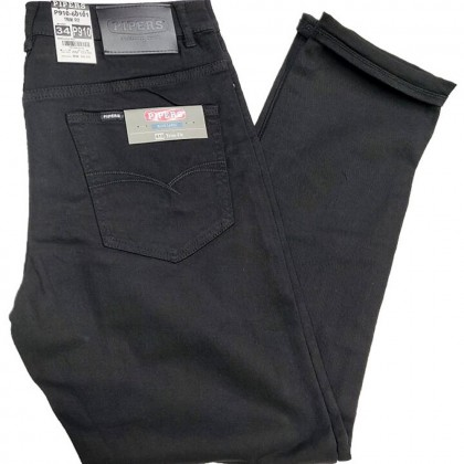 Original Pipers Jeans For Men (Regular Fit-P909 / Trim Fit- P910-60101 Black)
