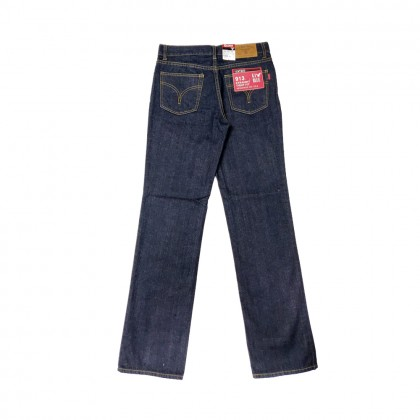 GA Blue Straight Tight Fit Jeans Regular Rise 99131523-79 Dark Blue