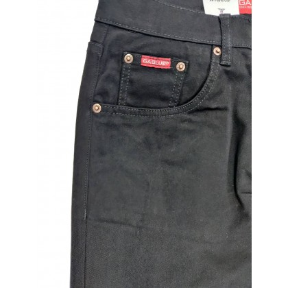 GA Blue Straight Cut Jeans Normal Rise 9911 1899-01 (Black)