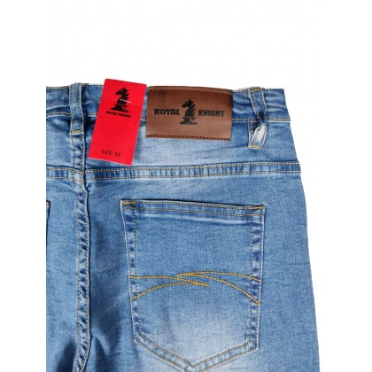 Royal Knight Skinny Jeans RKJEL-603-04 (Light Blue)