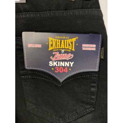 Exhaust Skinny Stretchable Jeans 60122-99 (Black)