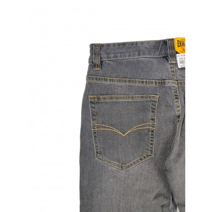 Exhaust Skinny Stretchable Jeans B89-60687NSK-38 (Dark Grey)