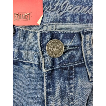 Exhaust Skinny Stretchable Jeans B89-60685NSK-38 (Blue)