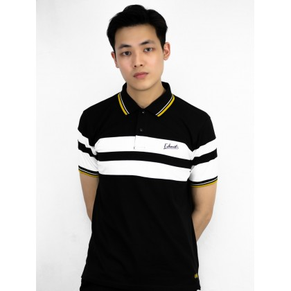 Exhaust Men's Short Sleeves Polo Shirt Casual Style Slim Fit B69-20755CSSL