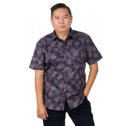 DR.CARDIN Printed Shirt Big Size Smart Fit CTS3359