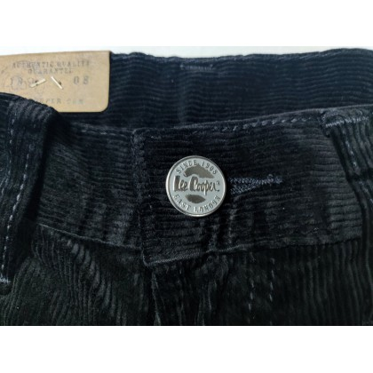 Lee Cooper Stretchable Corduroy Dark Blue Jeans (Straight Cut/ Regular Fit)