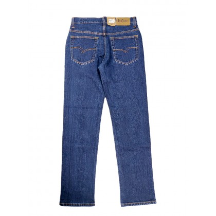 Lee Cooper Stretchable Blue Jeans (Straight Cut/ Regular Fit)
