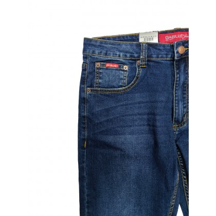 GA Blue Straight Fit Stretchable Jeans Normal Rise 99131901