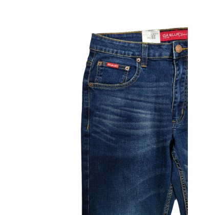 GA Blue Straight Fit Stretchable Jeans Normal Rise 99131903