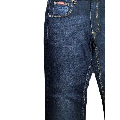 GA Blue Straight Fit Stretchable Jeans Normal Rise 99131905