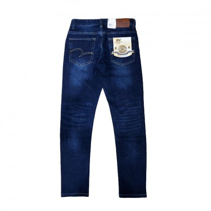 BV Travellers Stretchable Jeans Blue Washed (Straight Cut/ Regular Fit)