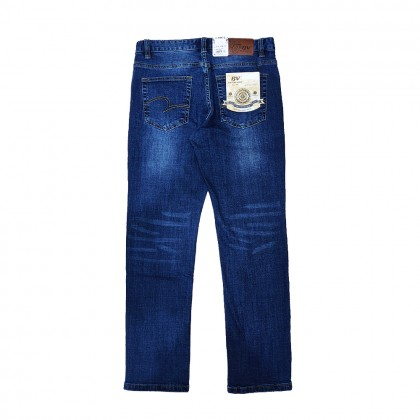 BV Travellers Stretchable Jeans Seasoned Blue (Straight Cut/ Regular Fit)