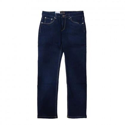 BV Travellers Stretchable Jeans Dark Blue (Straight Cut/ Regular Fit)