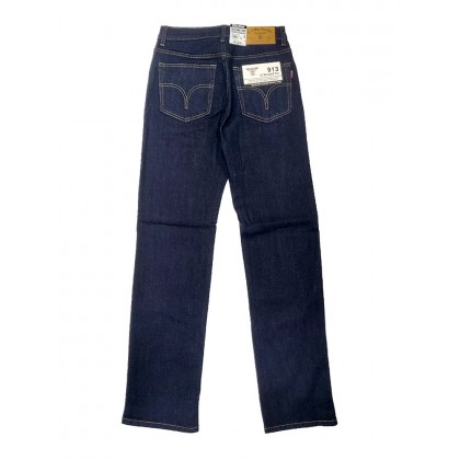 GA Blue Straight Fit Stretchable Jeans Normal Rise 99131898 (Dark Blue)