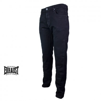 Exhaust Straight Cut Stretchable Jeans B8960854NST (Black)