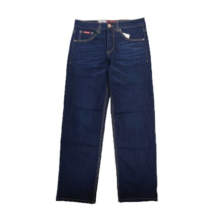 GA Blue Straight Cut Stretchable Jeans Normal Rise 99111897