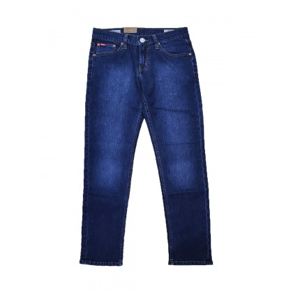 Lee Cooper Slim Fit Stretchable Jeans Old School Blue LC112-121S-OSE
