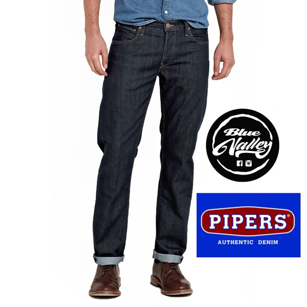 ORIGINAL PIPERS JEANS P909-45145 REGULAR FIT (RAW DENIM)